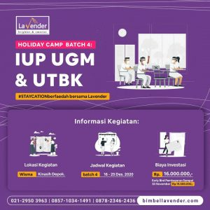 Tryout UTBK Lavender Holiday Camp